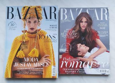 7x časopis Marie Claire, Harpers Bazaar
