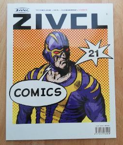 časopis ŽIVEL č.21 - téma COMICS 2002
