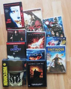 DVD mix - Temný rytíř, Watchmen, Angel Heart, Iron Man2, Tin Tin...