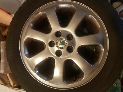 4x kola disky pneu alu Octavia I 16 originál, dobrý stav, litá