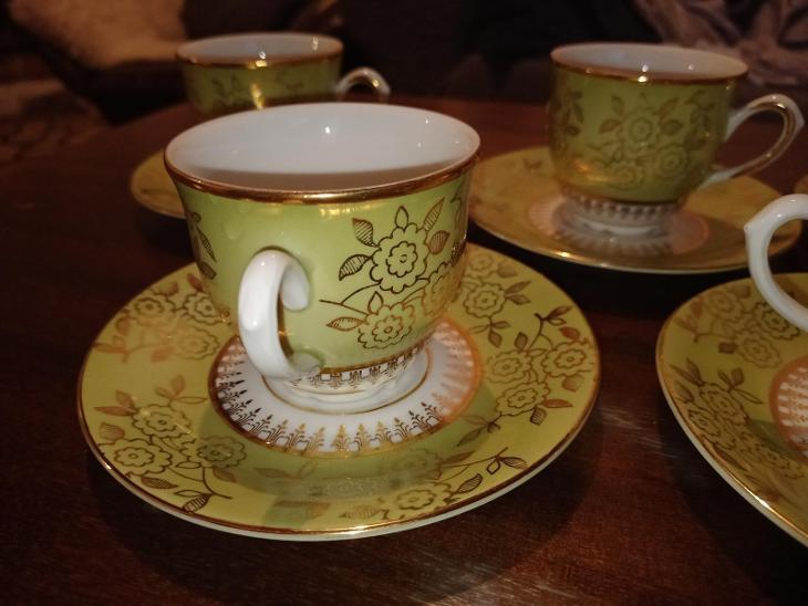 Kávový servis - Porcelán