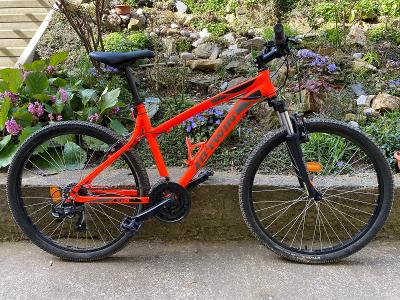 Horské kolo Decathlon Rockrider 340 - oranžové