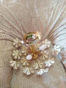 květinový lustr velký