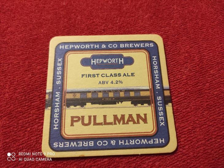 Pivní Tácek Hepworth / Iron Horse  - Nápojový průmysl