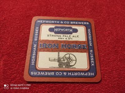 Pivní Tácek Hepworth / Iron Horse