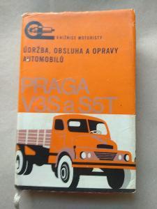 Údržba, obsluha a opravy automobilů Praga V3S a S5T  1969
