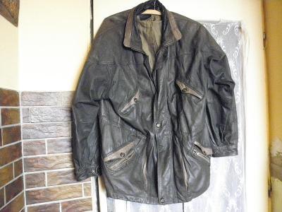 kožená bunda xxl