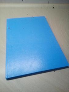 Retro sešit s tvrdými deskami, záznamní kniha C lepená 14 105, A4