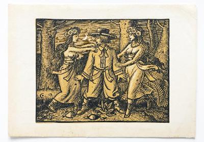 ! ! ! ! ! Starožitná pohlednice Rusalky, Lužice ! ! ! !