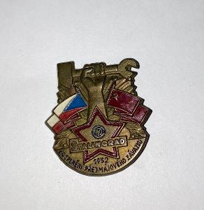 ČKD - Stalingrad za splnění předmájového závazku 1952