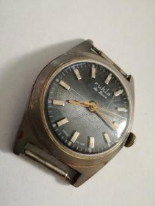 Starožitné hodinky Ruhla AUTOMATY plně funkční