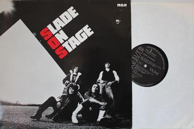 Slade – Slade On Stage LP 1982 vinyl D 1.press super stav EX
