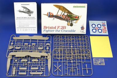 BRISTOL F.2B FIGHTER THE CROCODILE Limited ProfiPack, 1:48, Eduard