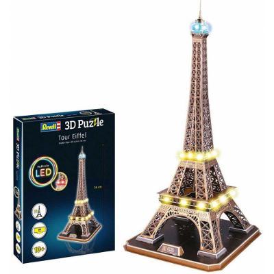 Revell 3D Puzzle Tour Eiffel (LED Edition) 84 ks *NOVÉ*