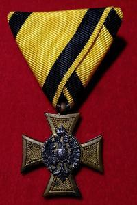 RU - Služební odznak pro důstojníky 25 let, PERLEŤOVÝ REVERS RRR!!!