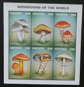 Guyana 1997 Mi.5925-0 7,5€ Houby a mykologie, flora Jižní Ameriky
