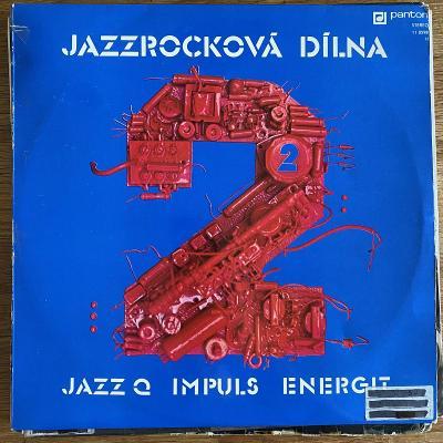 Jazz Q, Impuls, Energit – Jazzrocková Dílna 2 - LP vinyl