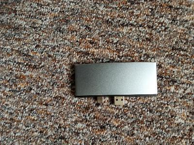 USB hub, 3x USB 3.0, HDMI, micro SD, SD, Lightning