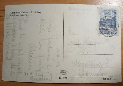 měnová reforma, pohlednice 16.VI.53, vyfr. zn. Pof.L35
