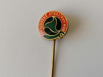 Odznak Sokolovské strojírny HDB