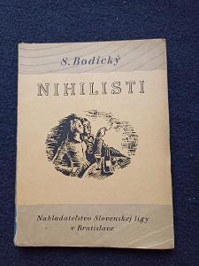 Kniha - Nihilisti/136 str -1935...(13722)