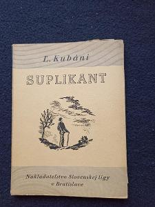 Kniha - Suplikant/119 str -1935...(13723)