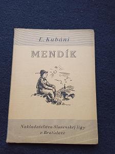 Kniha - Mendík/121 str -1935...(13724)