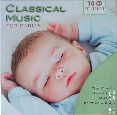 CLASSICAL MUSIC FOR BABIES V/A 10 CD BOX WALLET
