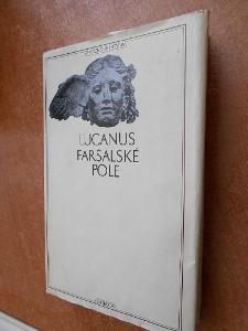 Lucanus - Farsalské pole - Antická knihovna 33