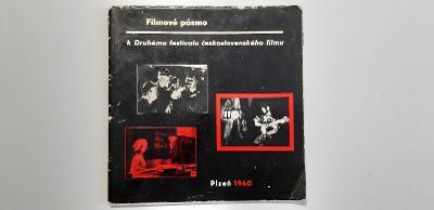 katalog Filmové pásmo k Druhému festivalu čs. filmu Plzeň 1960