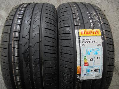 pneu 255 45r17 letní Pirelli Cinturato P7 runflat 98W 2kusy NOVÉ