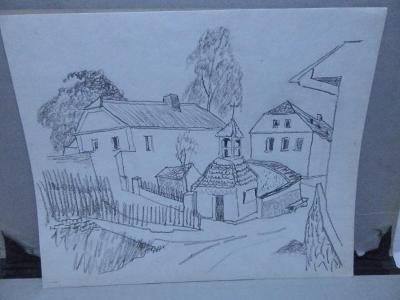 Kaplička- 2 x Obrázek- kresba tužkou !!!