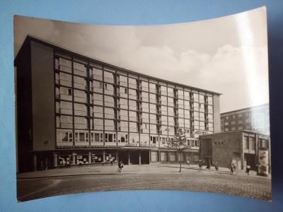 Pohlednice Karl-Marx-Stadt, prošlá 1968