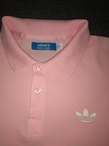 Adidas - Pánské tričko s límečkem v. M