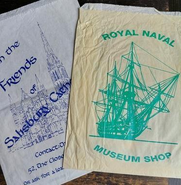 Salisbury, Royal Naval Museum, Velká Británie, obálky na pohlednice
