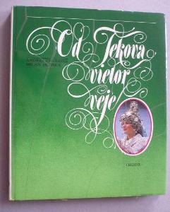 Od Tekova vietor veje (A4) folklór Slovensko kroje fotky 1984