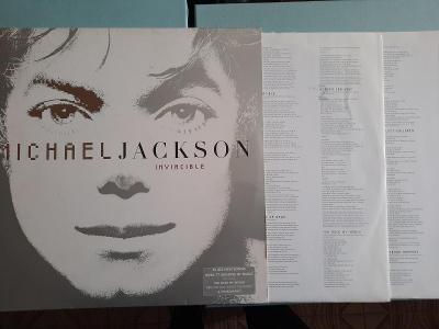 Michael Jackson – Invincible 2xLP 2001 vinyl NL 1.press jako nove NM