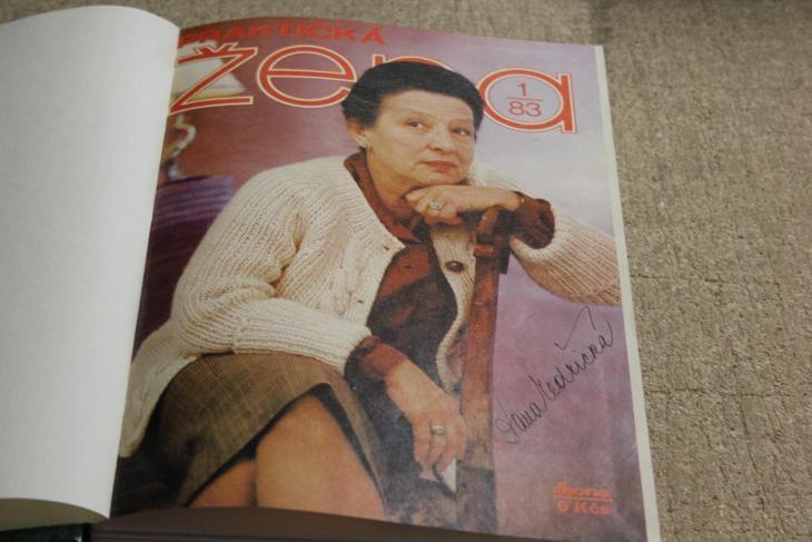 STARÉ SVÁZANÉ ČASOPISY PRAKTICKÁ ŽENA  ROK 1983 - Časopisy