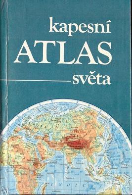 KAPESNÍ ATLAS SVĚTA - Knihy/1