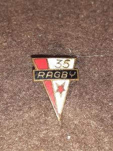 Odznak SK Slavia Praha ragby 35 let