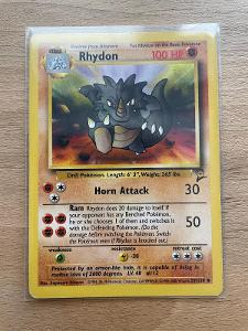 Rhydon 59/130 pokemon karta base set 2