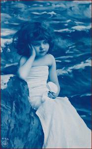Děti * děvče, portrét, atelier foto, gratulační * M2751