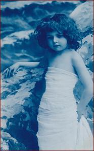 Děti * děvče, portrét, atelier foto, gratulační * M2759