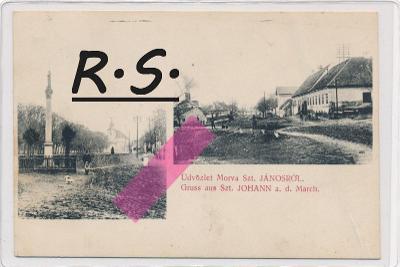 Moravský Svätý Ján 1914 - Senica , /4443/