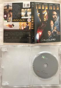 DVD Ironman 1 CZ dabing a titulky