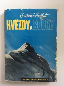 Kniha - Gaston Rébuffat - Hvězdy a bouře