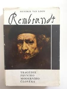 Kniha - Hendrik van Loon - Rembrant