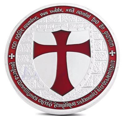 Pamětní mince - Knights Templar