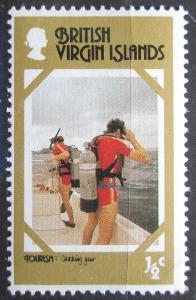 Britské panenské ostrovy 1978 Potápěči Mi# 327 0131