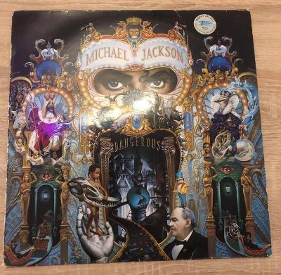 LP MICHAEL JACKSON – 2 LP DANGEROUS 1991